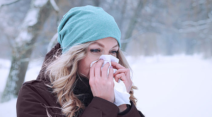 Winter Throat Sore and Colds