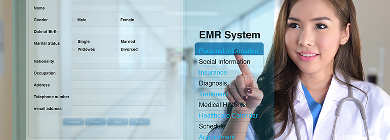 Easy to use EMR