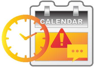 Calendar alerts through your psychiatry EHR