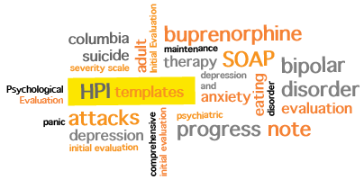 Quick Charting Mental Health Templates